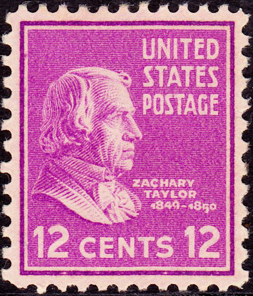 Zachary Taylor stamp