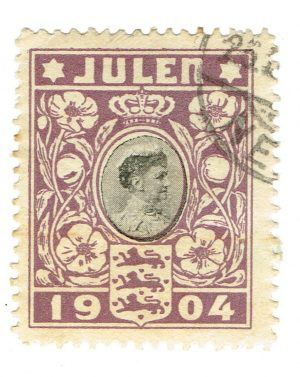 Many people reckon that the first Christmas stamp was issued in Denmark on December 6th 1904