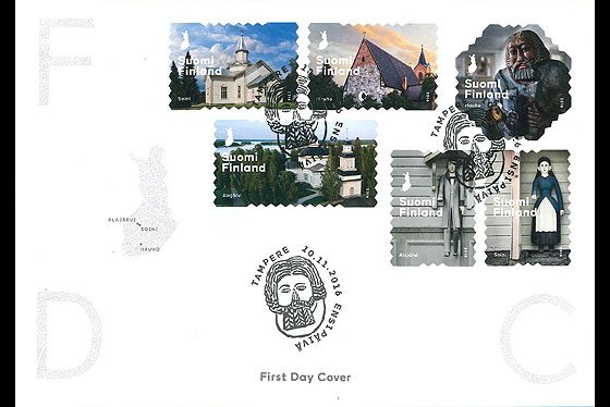 Posti: Fostering the wooden pauper tradition First Day Cover
