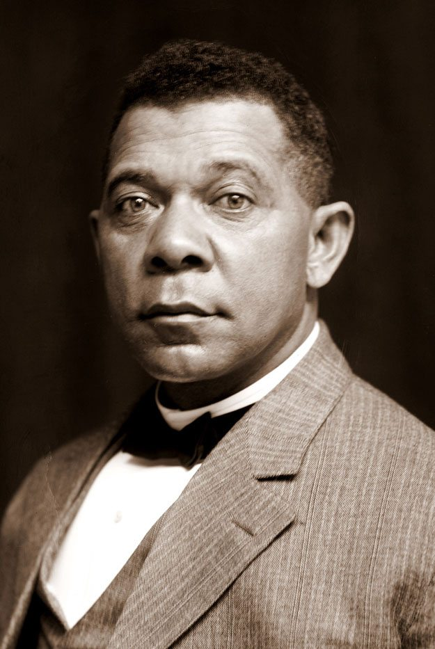 USPS didn't issue a stamp honoring an African American until 1940: Booker T. Washington.