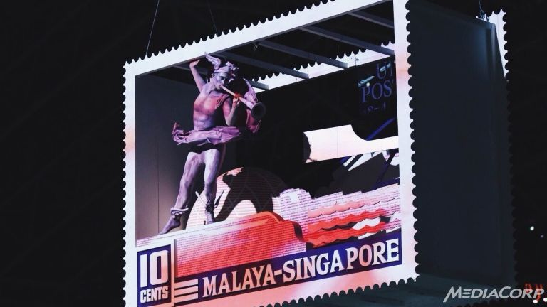 A gorgeous Parade of Stamps marked the 28th SEA Games Closing Ceremony