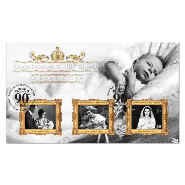 New Zealand Post: Queen Elizabeth II - 90th Birthday First Day Cover