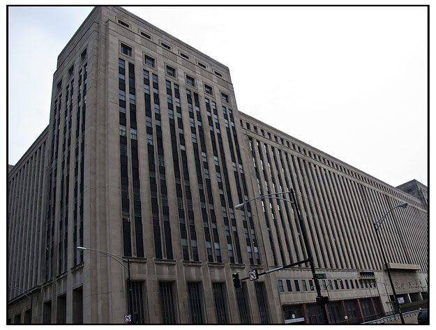 "The Chicago Post Office shut down for a week in 1966 because, as one postmaster put it, ""We had mail coming out of our ears."""