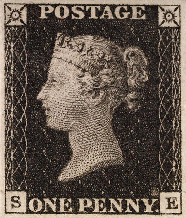 Stamp collecting: Penny Black - First Stamp