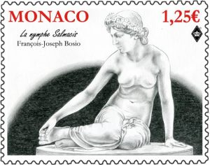Monaco Post: La nymphe Salmacis