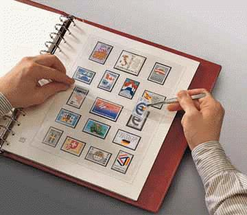 Stamp collecting equipment: Stamp Album