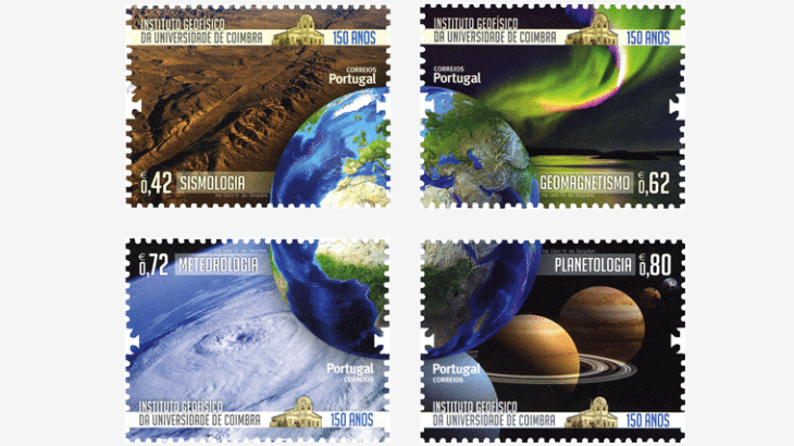 Portugal ecology stamps - Asiago Award