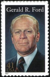 Gerald Ford stamp