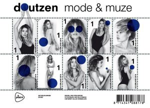 Ten commemorating Dutch model Doutzen Kroes by PostNL