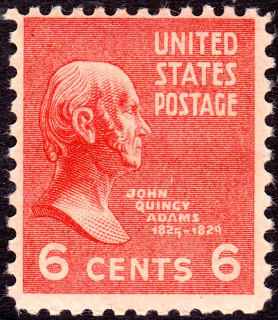 John Quincy Adams Stamp