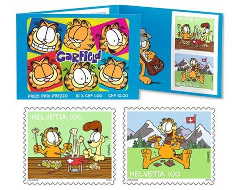 Special Nomination Awards: Garfield stamps by Swiss Post