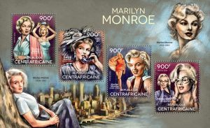 African nation used trans woman's image for Marilyn Monroe stamp. A great fuss kicked up in the world of philately lately
