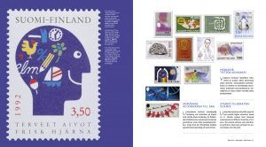 Finland on Stamps book