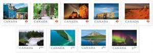 """From Far and Wide"" stamps by Canada Post"