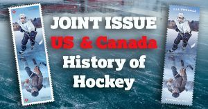 Canada Post and USPS jointly explore History of Hockey'