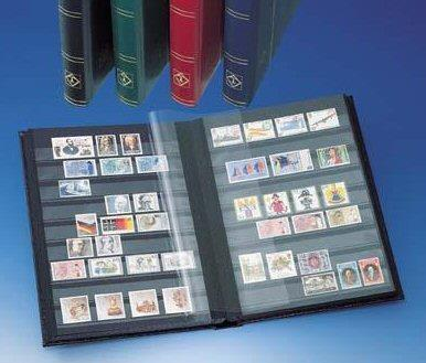 Stamp collecting equipment: Stock-book