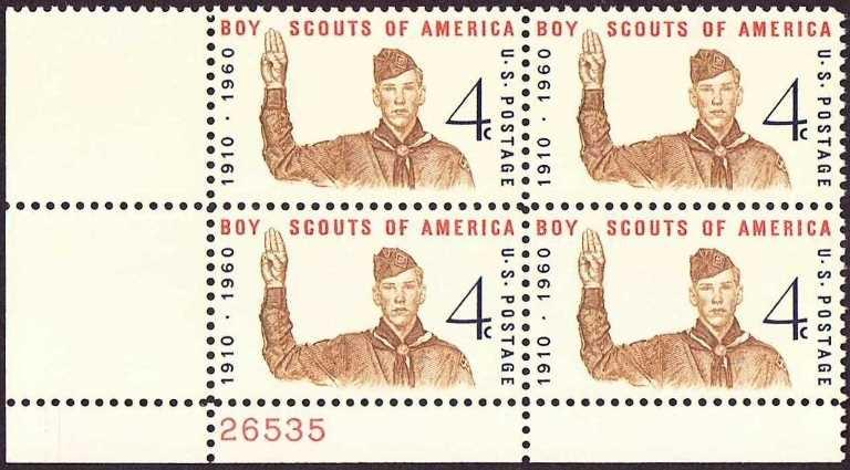Stamp collecting: corner blocks or plate blocks