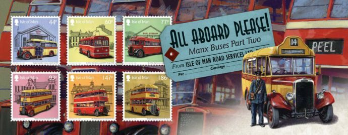Isle of Man Post: All Aboard Please Souvenir Sheet