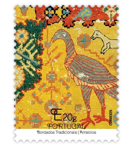 Rugs of Arraiolos stamp