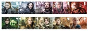 Game of Thrones series to be honored by Royal Mail