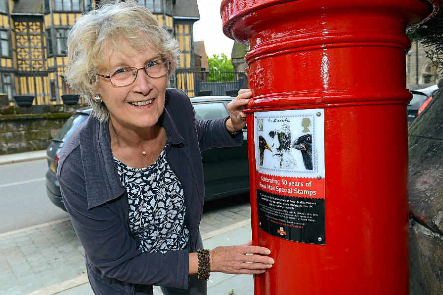 Stamps on the postboxes – Royal Mail marks the 50th anniversary of its Special Stamps programme