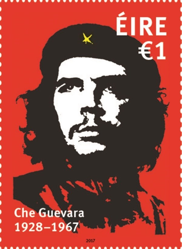 An Post released special Che Guevara stamp. The issue caused much controversy in the society