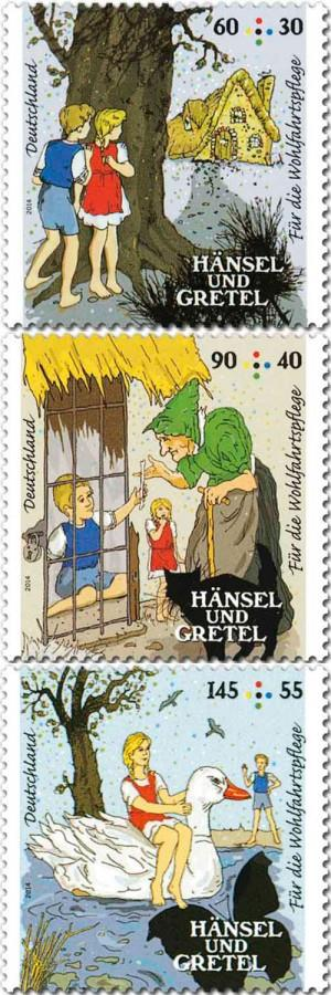 #5. Hansel and Gretel stamps