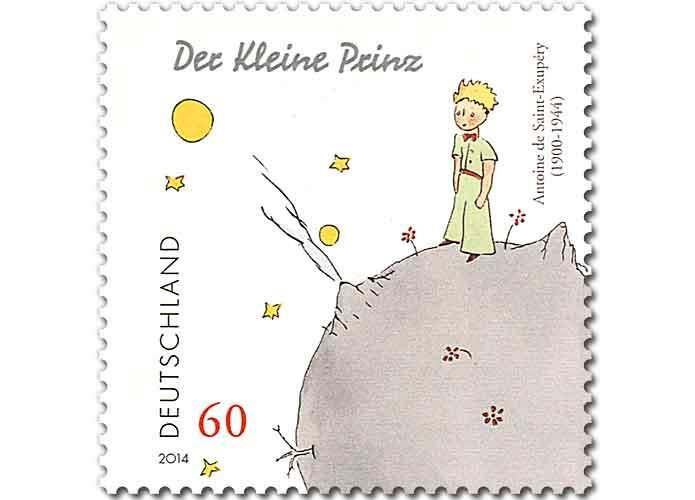 "#7.   ""The Little Prince"" stamp"