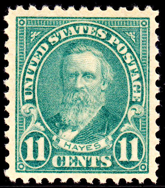 Rutherford Hayes stamp