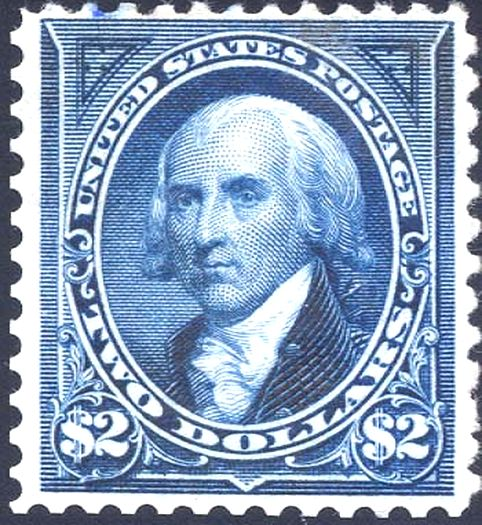 James Madison Stamp Was The Fourth President