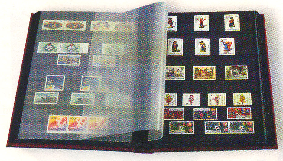 Organizing your stamp collection