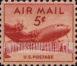 Airmail 1947 Stamp Value