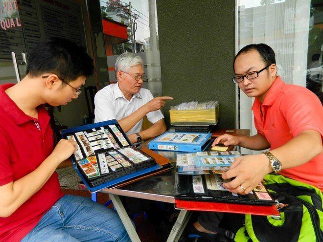 Stamp bazar as a unique living culture of Saigonese