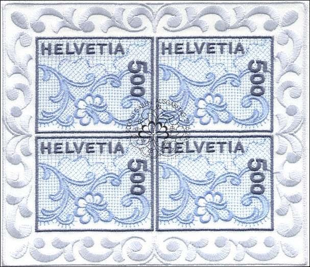 First embroidered stamp that revolutionized the world of philately