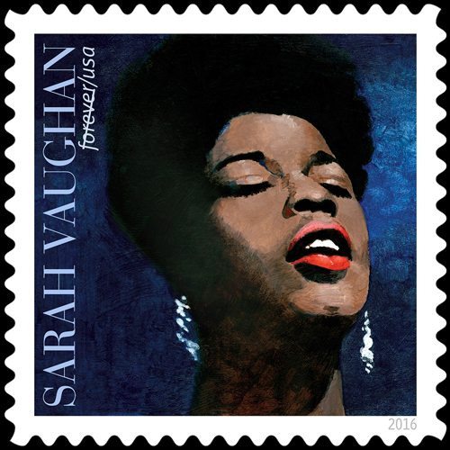 Sarah vaughan as one of the most wondrous voices of the 20th century sarah vaughan as one of the most wondrous voices of the 20th century new commemorative stamp released by usps stopboris Image collections