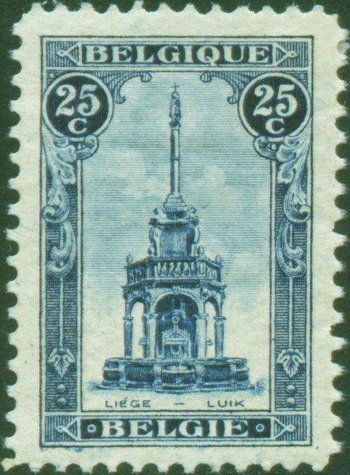 Perron Of Liege stamp, 1919