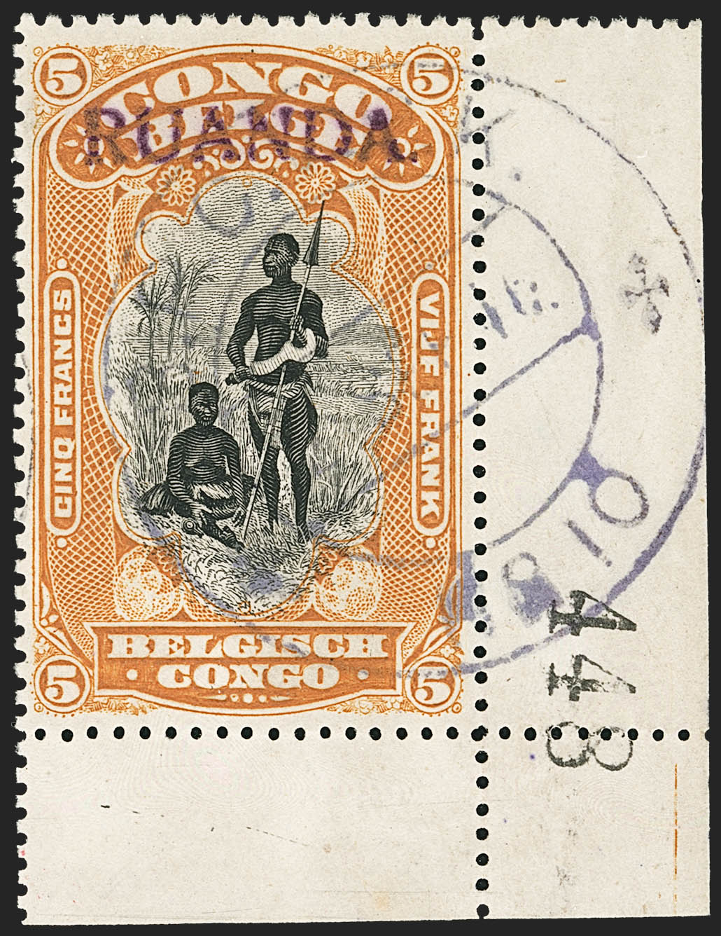 East Africa Occupation stamp, 1916