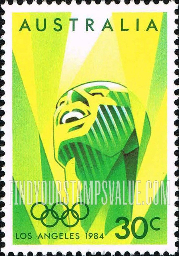Airmail 30c Green Stamp Value