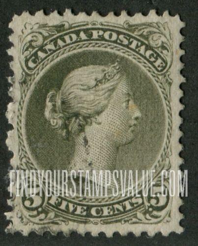 Nederland 5 Cent Green Stamp Value