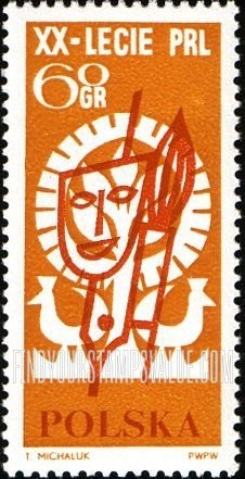 Value of mapa 20 pen stamps