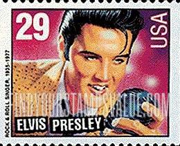 29 Cent Elvis Presley Stamp Value
