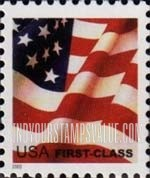 Value Of First Class Flag Usa Stamps