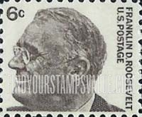 Value Of Franklin D Roosevelt 6 Cent Stamps