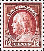 12 Cent Ben Franklin Stamp Value
