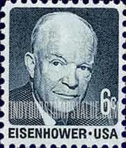 6 Cent Dwight D Eisenhower Stamp Value