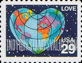 love usa 29 stamp value