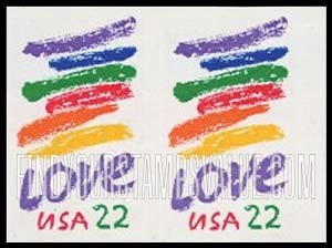 love usa 22 stamp value