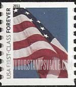 first class flag USA stamp value
