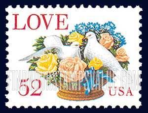 love 52 usa stamp value