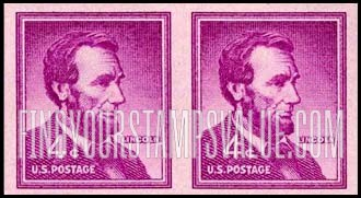 Value Of Abraham Lincoln 4 Cent Stamps